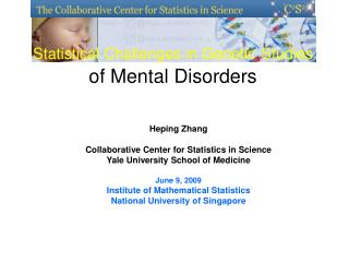 Statistical Challenges in Genetic Studies of Mental Disorders