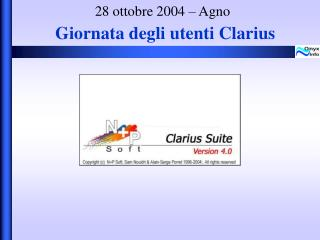 28 ottobre 2004 – Agno
