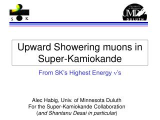 Upward Showering muons in Super-Kamiokande