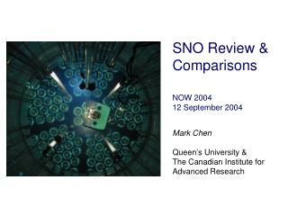 SNO  Review & Comparisons NOW 2004 12 September 2004