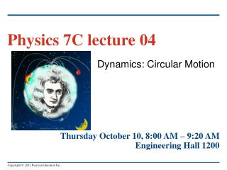 Dynamics: Circular Motion