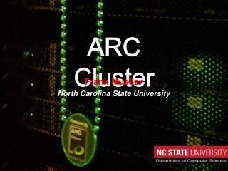 ARC Cluster