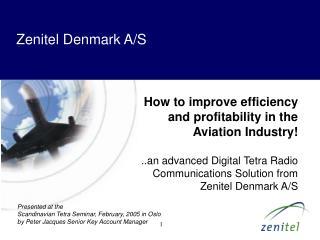 Zenitel Denmark A/S