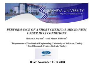 ICAT, November 13-14 2008