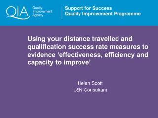 Helen Scott LSN Consultant