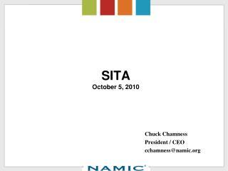 SITA October 5, 2010