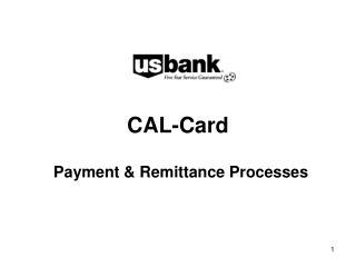 CAL-Card