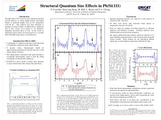 Structural Quantum Size Effects in Pb/Si(111)