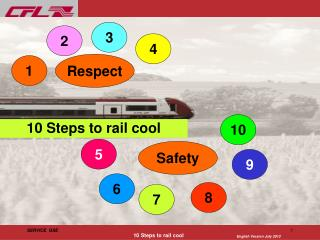 10 Steps to rail cool