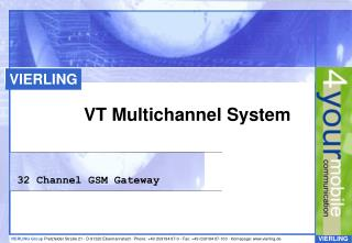 VT Multichannel System