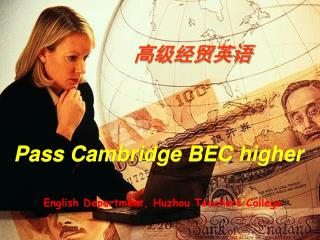 Pass Cambridge BEC higher