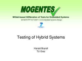 Testing of Hybrid Systems