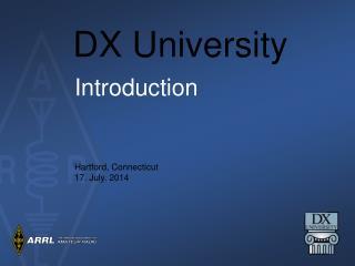 DX University