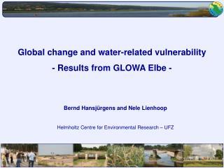 Bernd Hansjürgens and Nele Lienhoop Helmholtz Centre for Environmental Research – UFZ