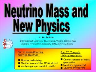Neutrino Mass and