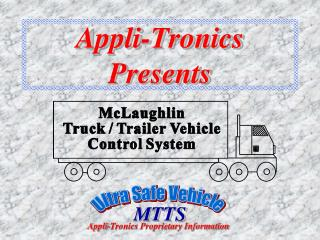 Appli-Tronics Presents