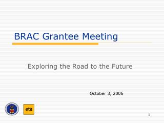 BRAC Grantee Meeting