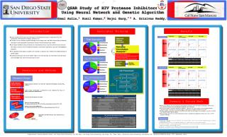 QSAR Study of HIV Protease Inhibitors  Using Neural Network and Genetic Algorithm