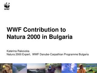 WWF Contribution to  Natura 2000 in Bulgaria