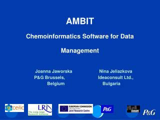 AMBIT Chemoinformatics Software for Data Management