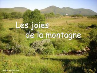 Les joies de la montagne