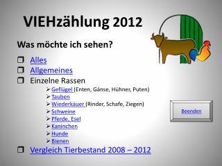 VIEHz�hlung 2012