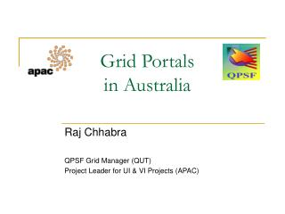 Grid Portals in Australia