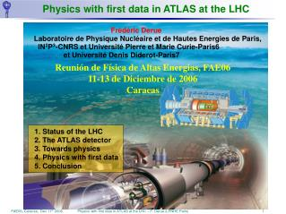 Physics with first data in ATLAS at the LHC