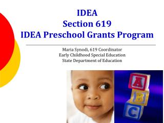IDEA Section 619 IDEA Preschool Grants Program
