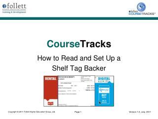 Course Tracks