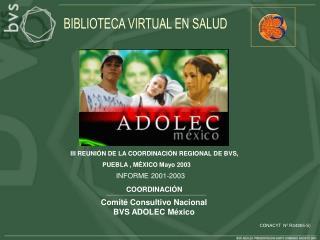 Comité Consultivo Nacional BVS ADOLEC México