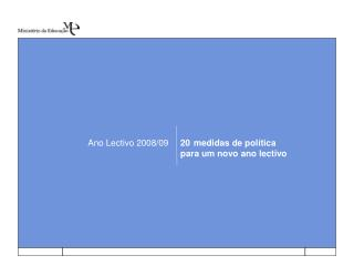 Ano Lectivo 2008/09