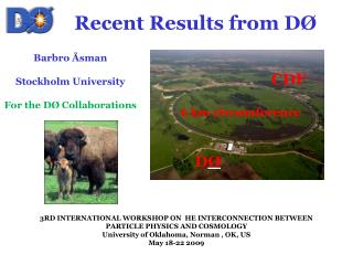 Recent Results from D Ø