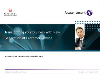 Transforming your business with New Generation of Customer Service