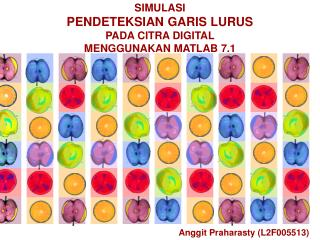 SIMULASI  PENDETEKSIAN GARIS LURUS PADA CITRA DIGITAL MENGGUNAKAN MATLAB 7.1