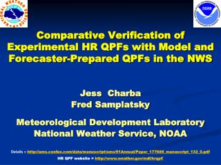 Jess   Charba Fred  Samplatsky Meteorological Development Laboratory