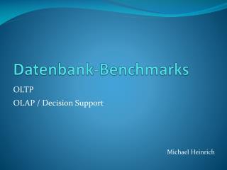 Datenbank-Benchmarks