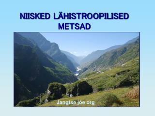 NIISKED LÄHISTROOPILISED METSAD