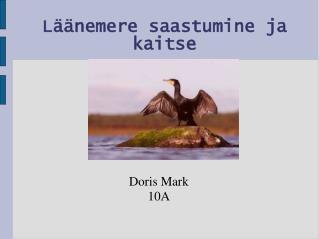 Läänemere saastumine ja kaitse