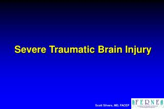 Severe Traumatic Brain Injury