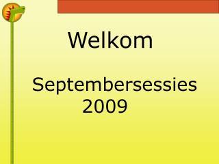 Septembersessies 2009