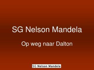 SG Nelson Mandela