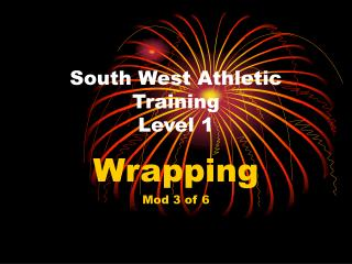 South West Athletic Training Level 1