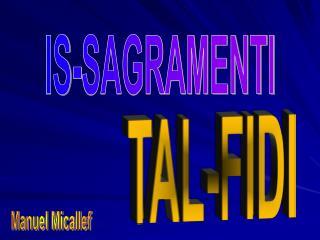IS-SAGRAMENTI