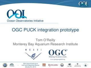 OGC PUCK integration prototype