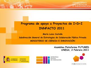 Asamblea Plataforma FUTURED UNESA, 2 Febrero 2011