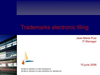 Trademarks electronic filing