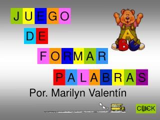 Por. Marilyn Valentín
