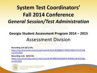 Assessment Division