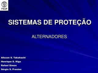 SISTEMAS DE PROTEÇÃO